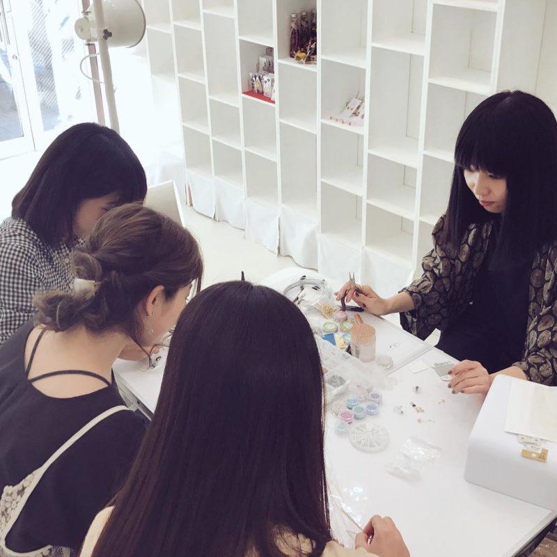 福岡のプロデュース店舗 ハコノスにてワークショップを行いました。